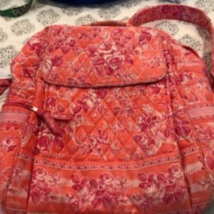 VB Pink and Orange Backpack